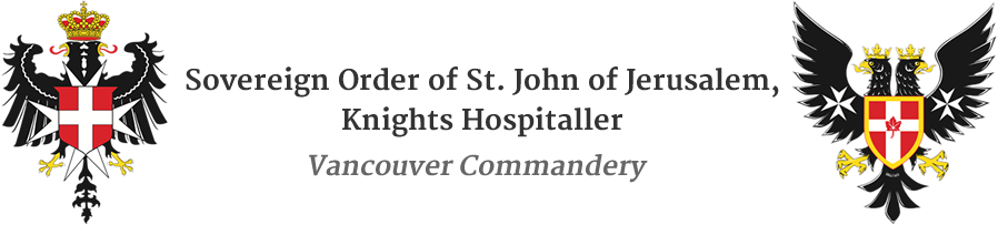 Order of St. John, Vancouver Commandery